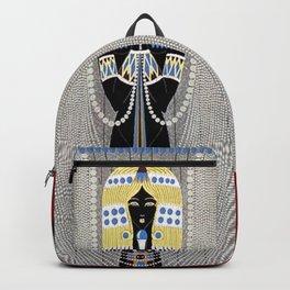 """The Egyptian"" Art Deco Illustration Backpack"