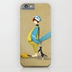 Blue Chickadee Slim Case iPhone 6s