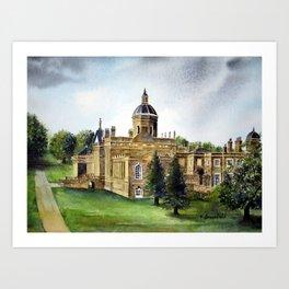 Castle Howard Art Print