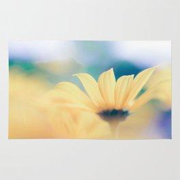 yellow flower Rug