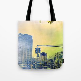The City Upside Down Tote Bag