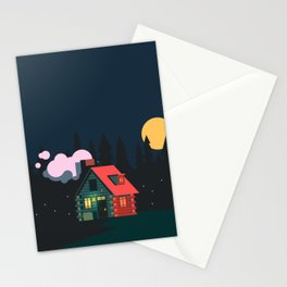 Cabin Home Stationery Cards