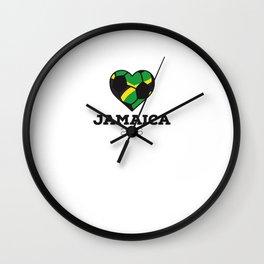 Jamaica Soccer Shirt 2016 Wall Clock