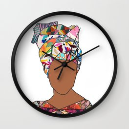 Woman of New Orleans - Galvez Wall Clock