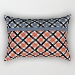 Plaid patchwork 1 Rectangular Pillow