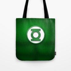 Green Lantern Suit Tote Bag