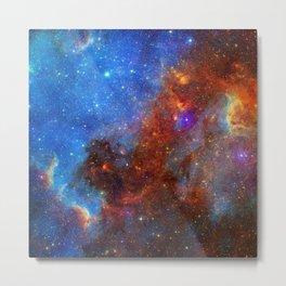 Colorful Nebula Galaxy Space Astronomy Metal Print