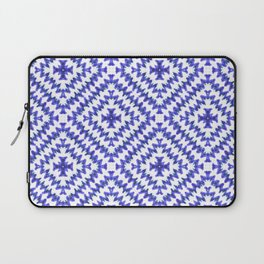 Indigo Chevron Bohemian Laptop Sleeve