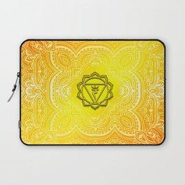 Solar Plexus Chakra Mandala Laptop Sleeve