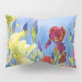 Blue Skies and Happiness Pillow Sham