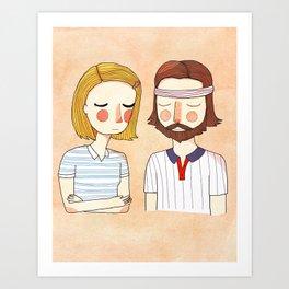Secretly In Love Art Print