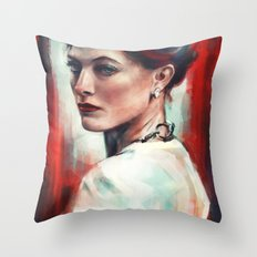 Irene Adler Throw Pillow
