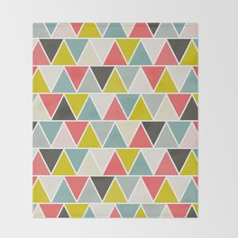 Triangulum Throw Blanket