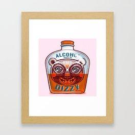 Makes me dizzy Framed Art Print