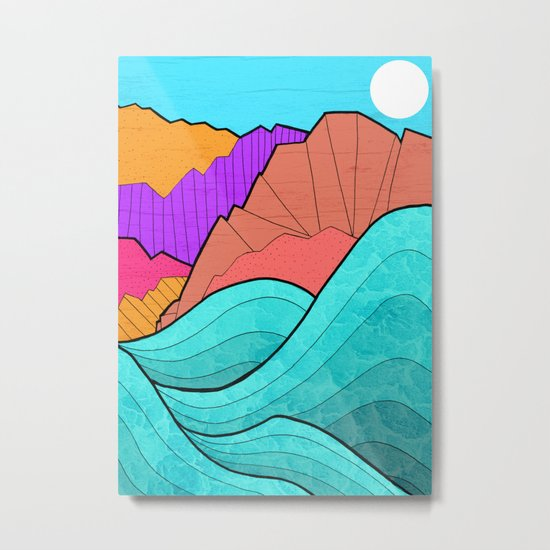 The Rising Tide Metal Print