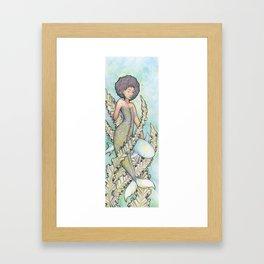 Mer and friend Framed Art Print