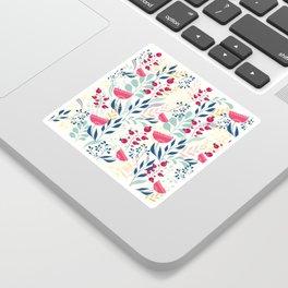 Floral Beauty Sticker
