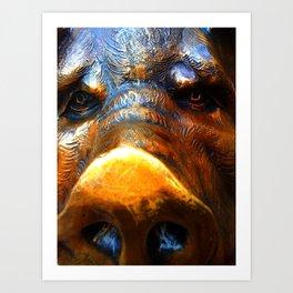 Boar Art Print