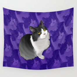 Spider Man the Cat Wall Tapestry