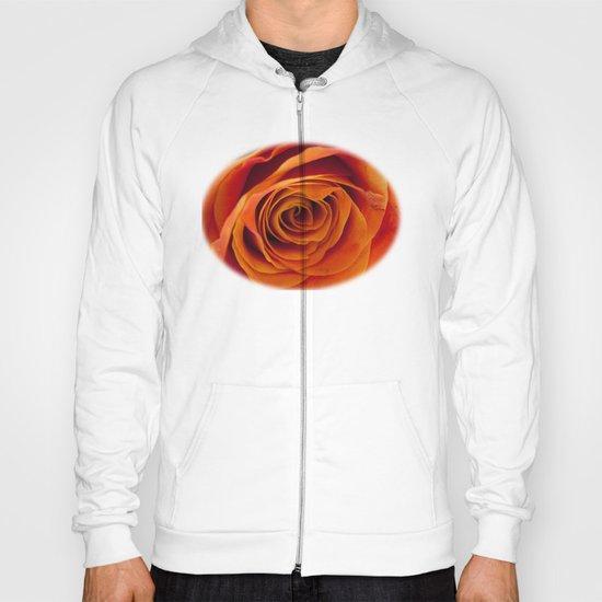 Orange rose bloom Hoody
