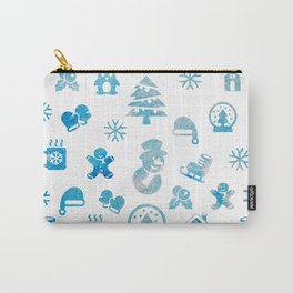 Winter Theme Carry-All Pouch