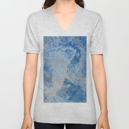 Blue Onyx Unisex V-Neck