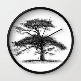 Big tree Wall Clock
