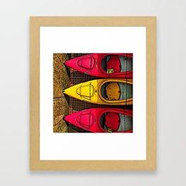 KYAKS Framed Art Print