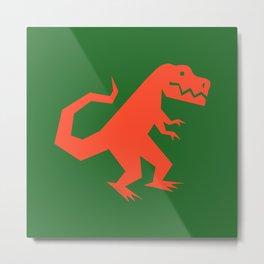 Simplesaurs: T-Rex Metal Print