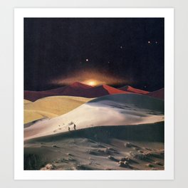The Desert Realm Art Print