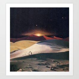 The Desert Realm Art Print