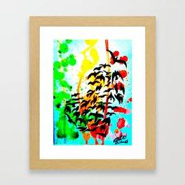 Heart in Flight  Framed Art Print