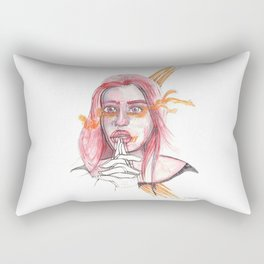 BREATHING I @EdART Rectangular Pillow