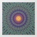 Happy Sun Circle Bohemian Geometric Thread Weave Pattern \\ Yellow Green Blue Purple Color Scheme by bohemianstyle