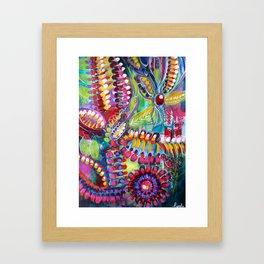 chimere de la collection au jardin Framed Art Print
