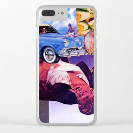 No Direction Clear iPhone Case