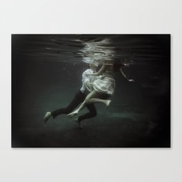abyss of the disheartened : VII Canvas Print