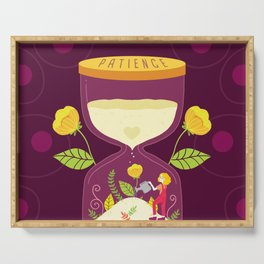 Grow Patience Serving Tray