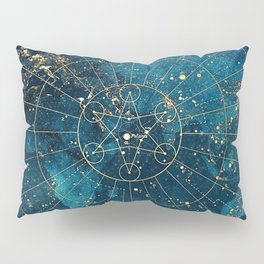 Star Map :: City Lights Pillow Sham
