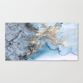 Gold immersion Canvas Print