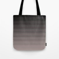 plain Tote Bags featuring plain lines by My Big Fat Brand
