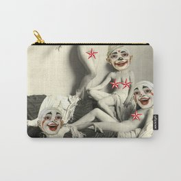 RECLINING NUDE CLOWNS (censored) Carry-All Pouch