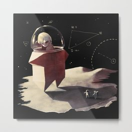 Space monster Metal Print