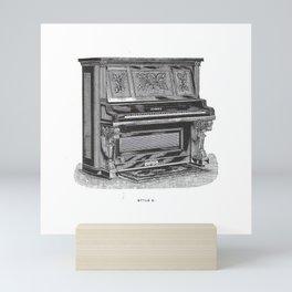 Kimball Piano 03 Mini Art Print