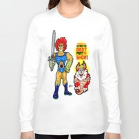 thundercats Long Sleeve T-shirts featuring SNARF!  The greatest of ALL The Thundercats...  Way cooler than Lion-O! by beetoons