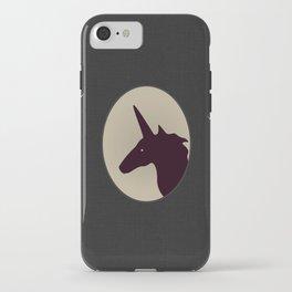 UNICORN SILHOUETTE iPhone Case