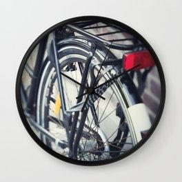 Commuting Wall Clock