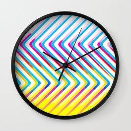 Pop Optical Art Wall Clock