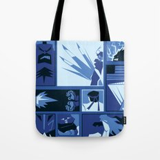 Street Fighter II Art Deco Tote Bag