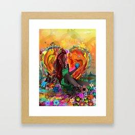Cherish the Earth Framed Art Print